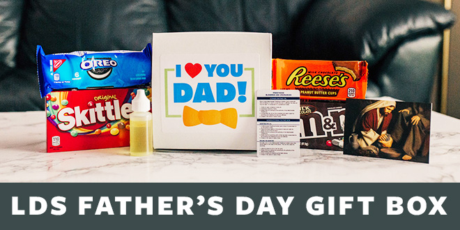 LDS Father's Day Gift Box