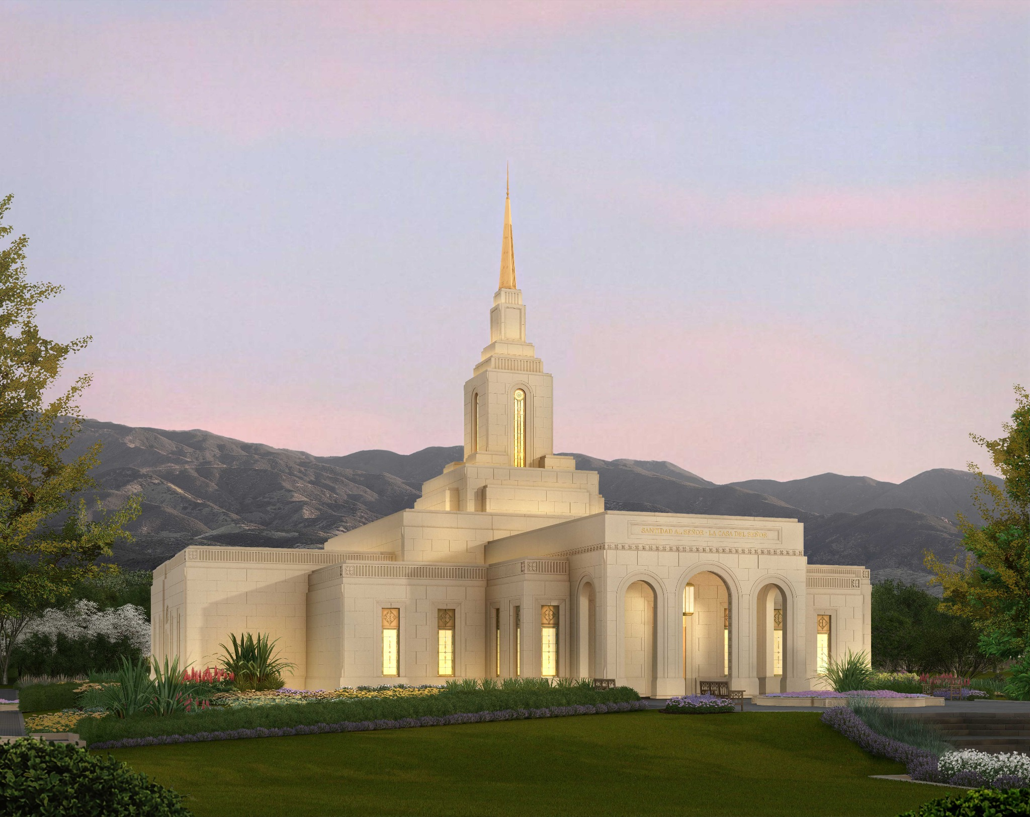 Rendering Released for Mendoza Argentina Temple
