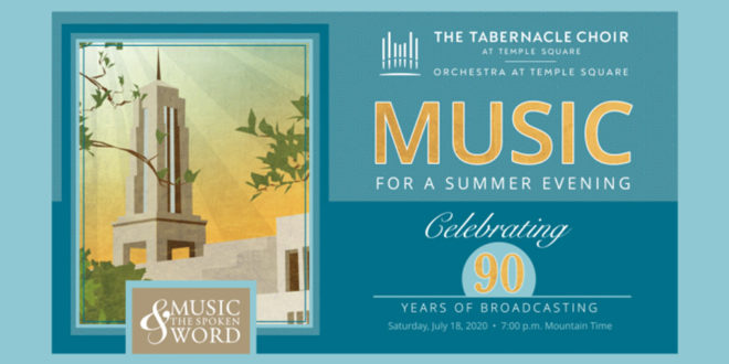 "Tabernacle Choir to Celebrate 90 Years of ""Music & the Spoken Word"""