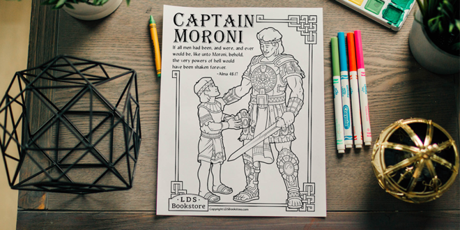 Here's Your Free Come, Follow Me Coloring Page – August 3-9, 2020