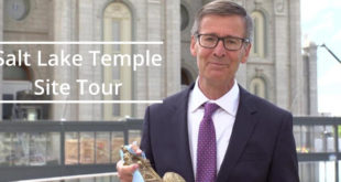 Inspiring Salt Lake Temple Site Tour from Youth General Presidencies