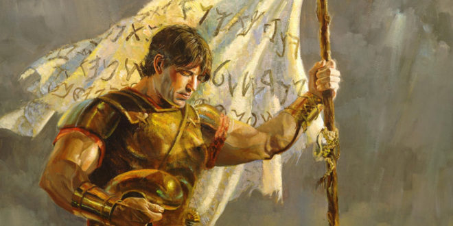 Book of Mormon FHE Lesson – Captain Moroni and the Title of Liberty