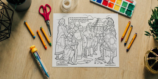 Here's Your Free Come, Follow Me Coloring Page – August 10-16, 2020