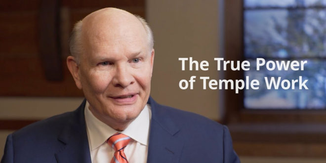 Elder Renlud Shares How We Can Access Power of the Temple During COVID-19