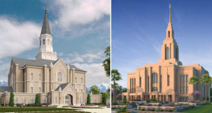 Groundbreakings Announced for Two Utah Temples