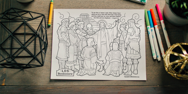 Here's Your Free Come, Follow Me Coloring Page – September 21-27, 2020