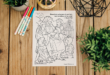 Here's Your Free Come, Follow Me Coloring Page – September 28-October , 2020