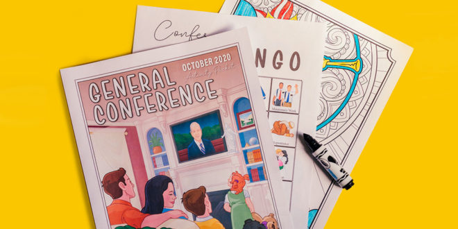 FREE General Conference Activity Packet (October 2020)