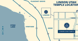 Church Announces Location for Lindon Utah Temple