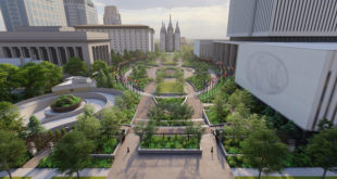 Salt Lake Temple Plaza Renovation Gets Underway