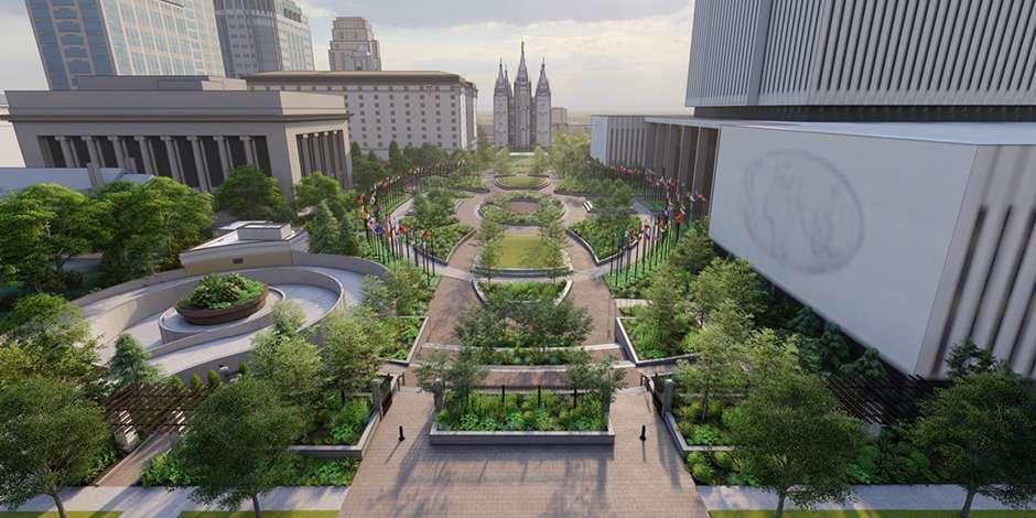 Salt Lake Temple Plaza Renovation Gets Underway