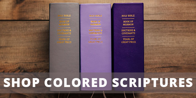 LDS Colored Scriptures